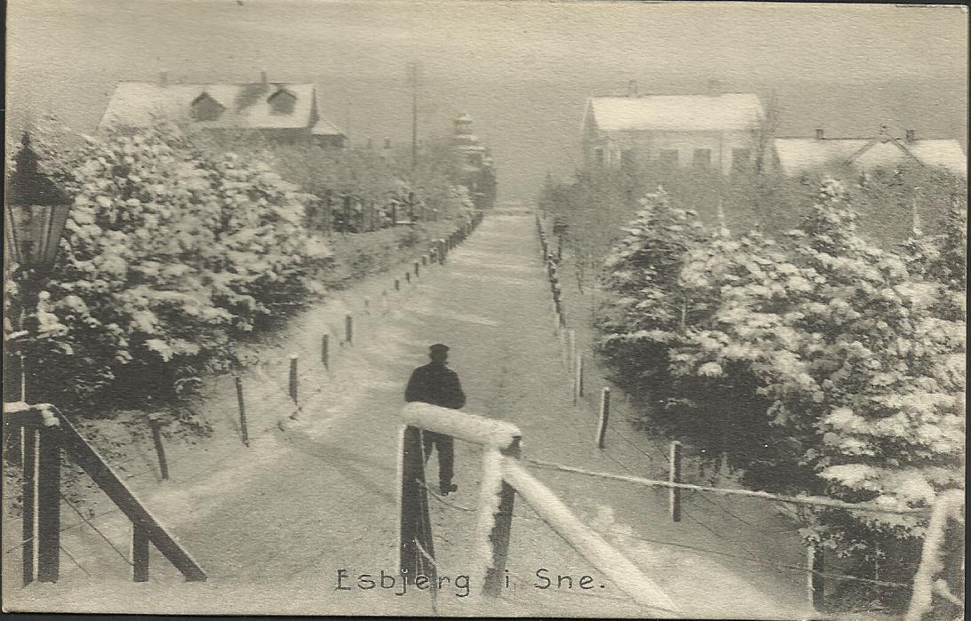 Postkort   Frimærkeklubben Sydvest, Esbjerg